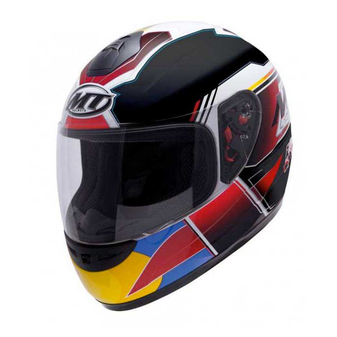 Mt helmets Thunder Kids Race And Win Yellow