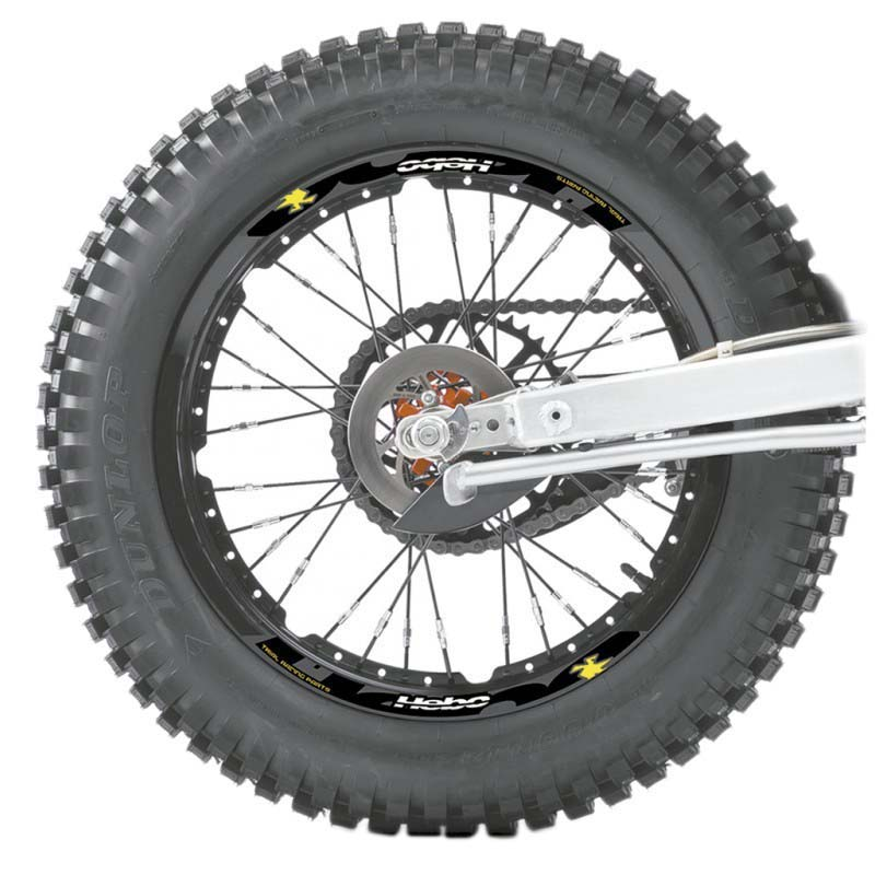 Hebo Off Road Sticker Wheels Set